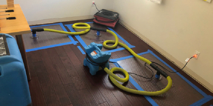 Toronto water damage drying